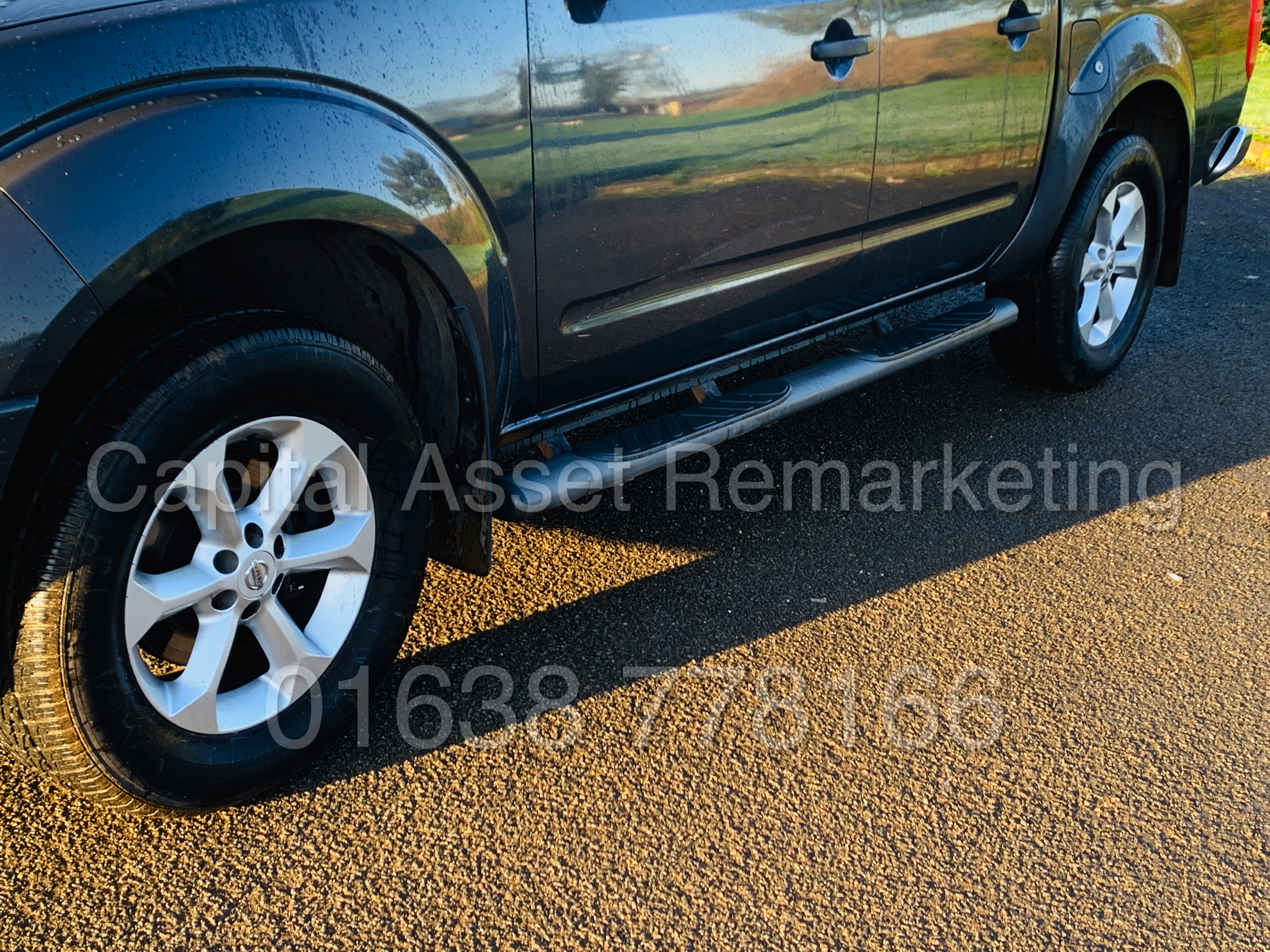NISSAN NAVARA *OUTLAW* DOUBLE CAB PICK-UP *4X4* (2009) '2.5 DCI-171 BHP- 6 SPEED' *AIR CON* (NO VAT) - Image 16 of 42