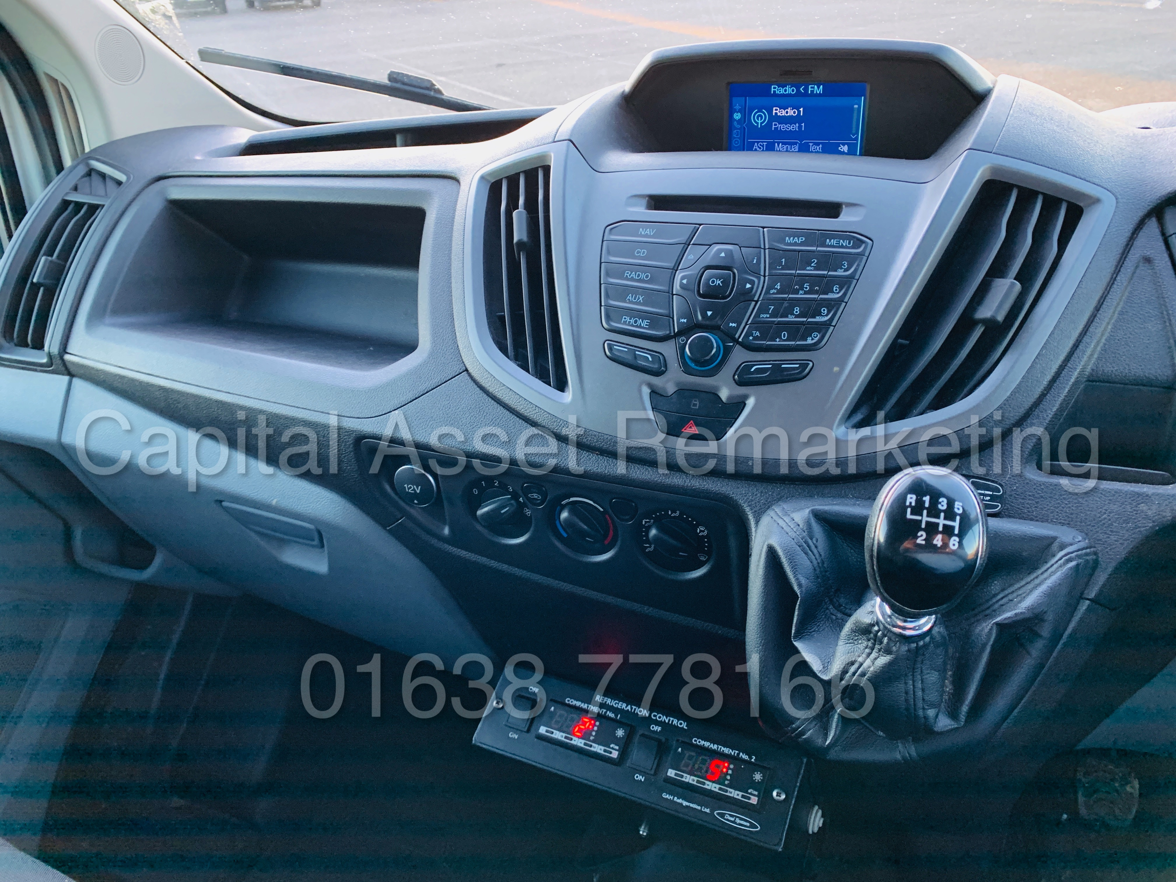 (On Sale) FORD TRANSIT T350 *LWB - REFRIGERATED VAN* (65 REG) '2.2 TDCI -125 BHP- 6 SPEED' (1 OWNER) - Image 33 of 43