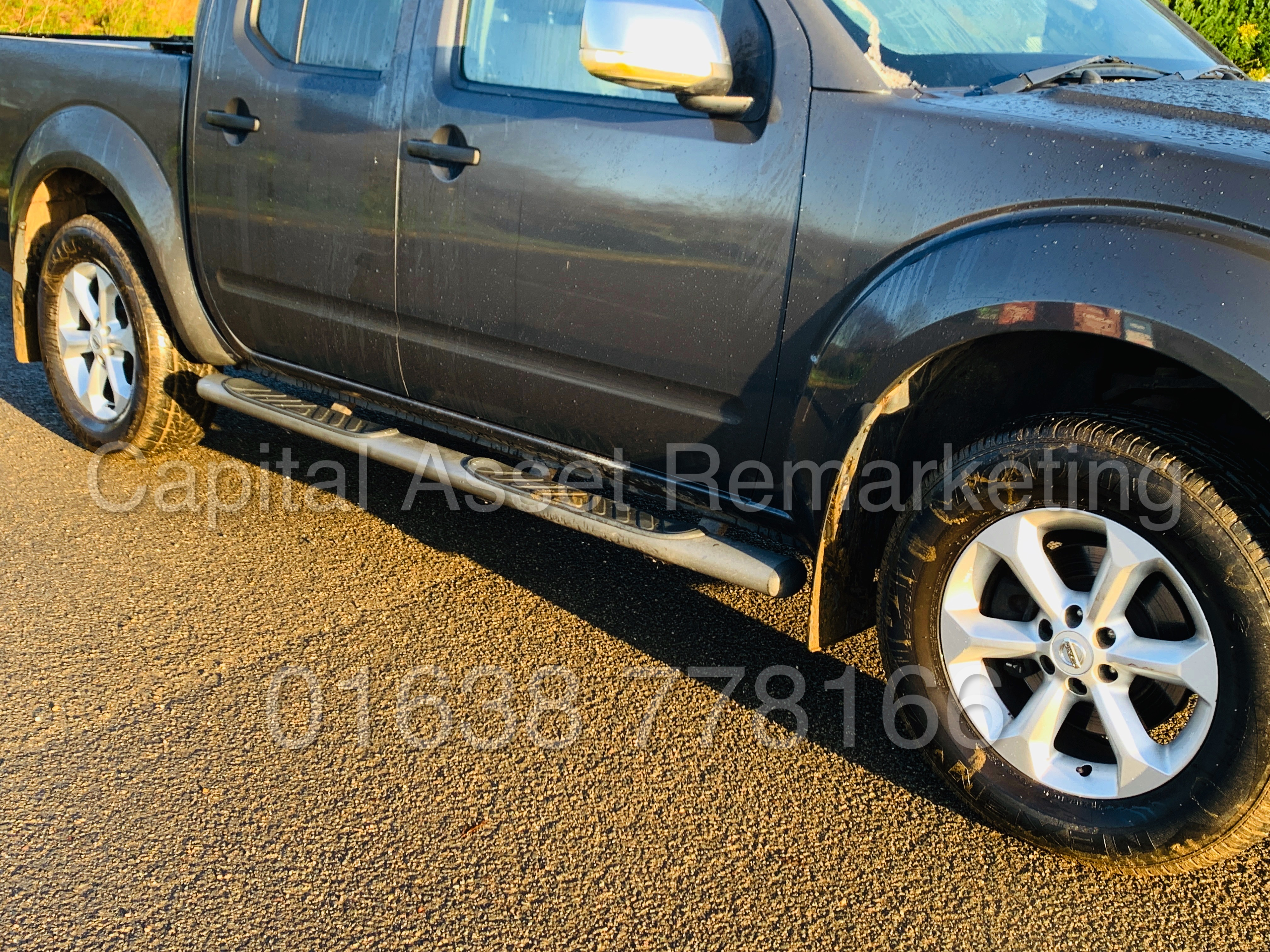 NISSAN NAVARA *OUTLAW* DOUBLE CAB PICK-UP *4X4* (2009) '2.5 DCI-171 BHP- 6 SPEED' *AIR CON* (NO VAT) - Image 13 of 42