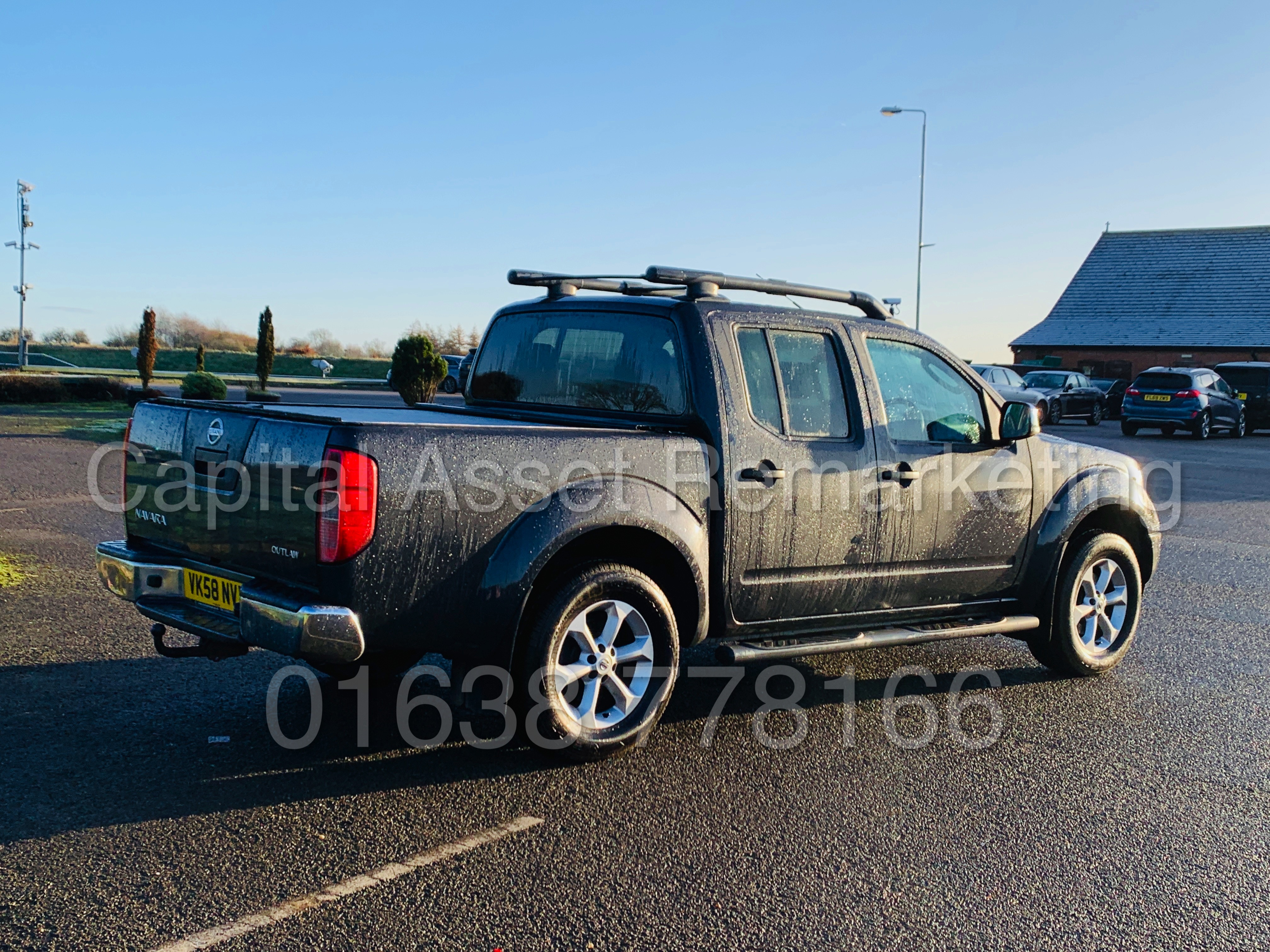 NISSAN NAVARA *OUTLAW* DOUBLE CAB PICK-UP *4X4* (2009) '2.5 DCI-171 BHP- 6 SPEED' *AIR CON* (NO VAT) - Image 10 of 42