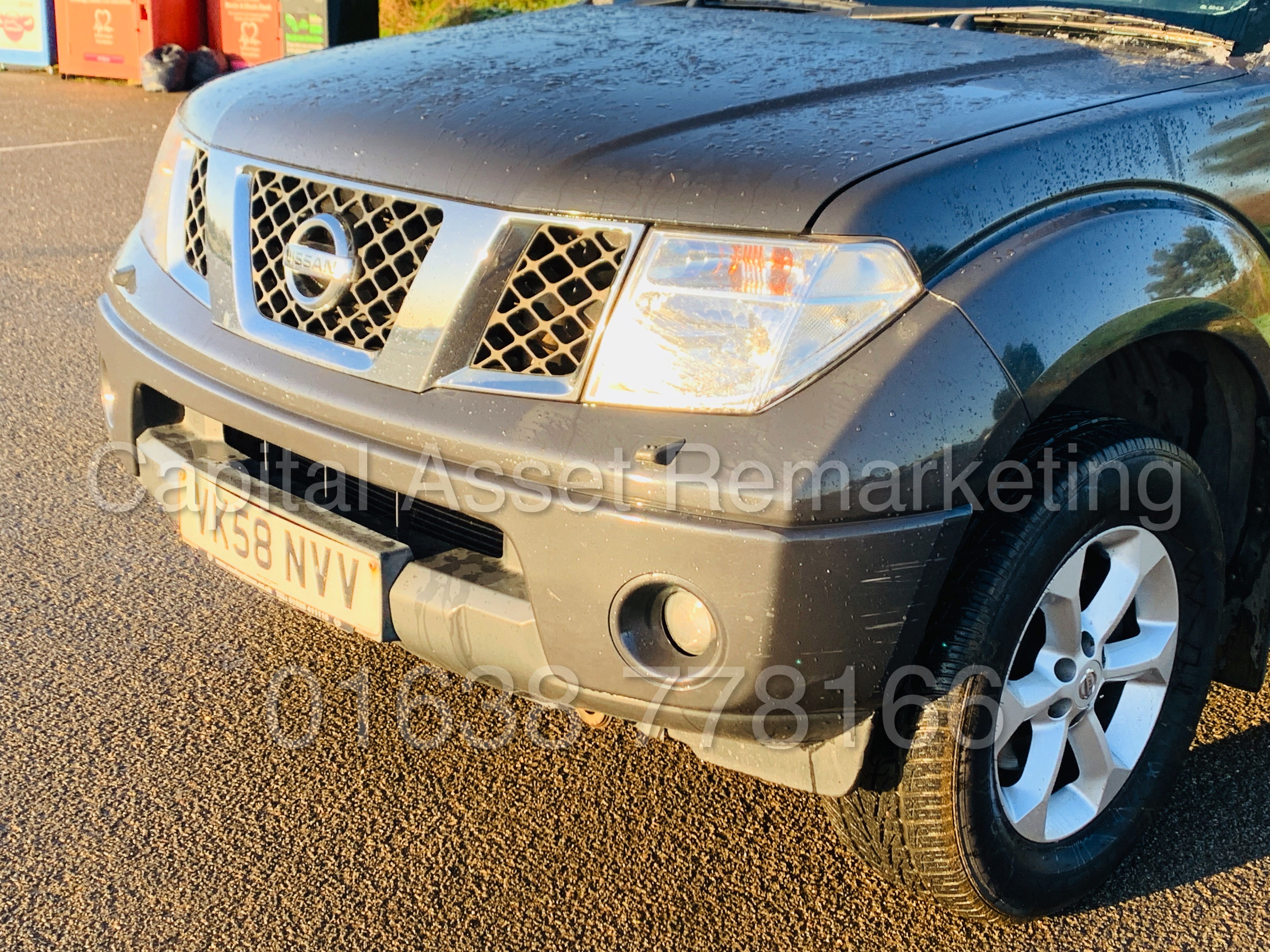 NISSAN NAVARA *OUTLAW* DOUBLE CAB PICK-UP *4X4* (2009) '2.5 DCI-171 BHP- 6 SPEED' *AIR CON* (NO VAT) - Image 15 of 42