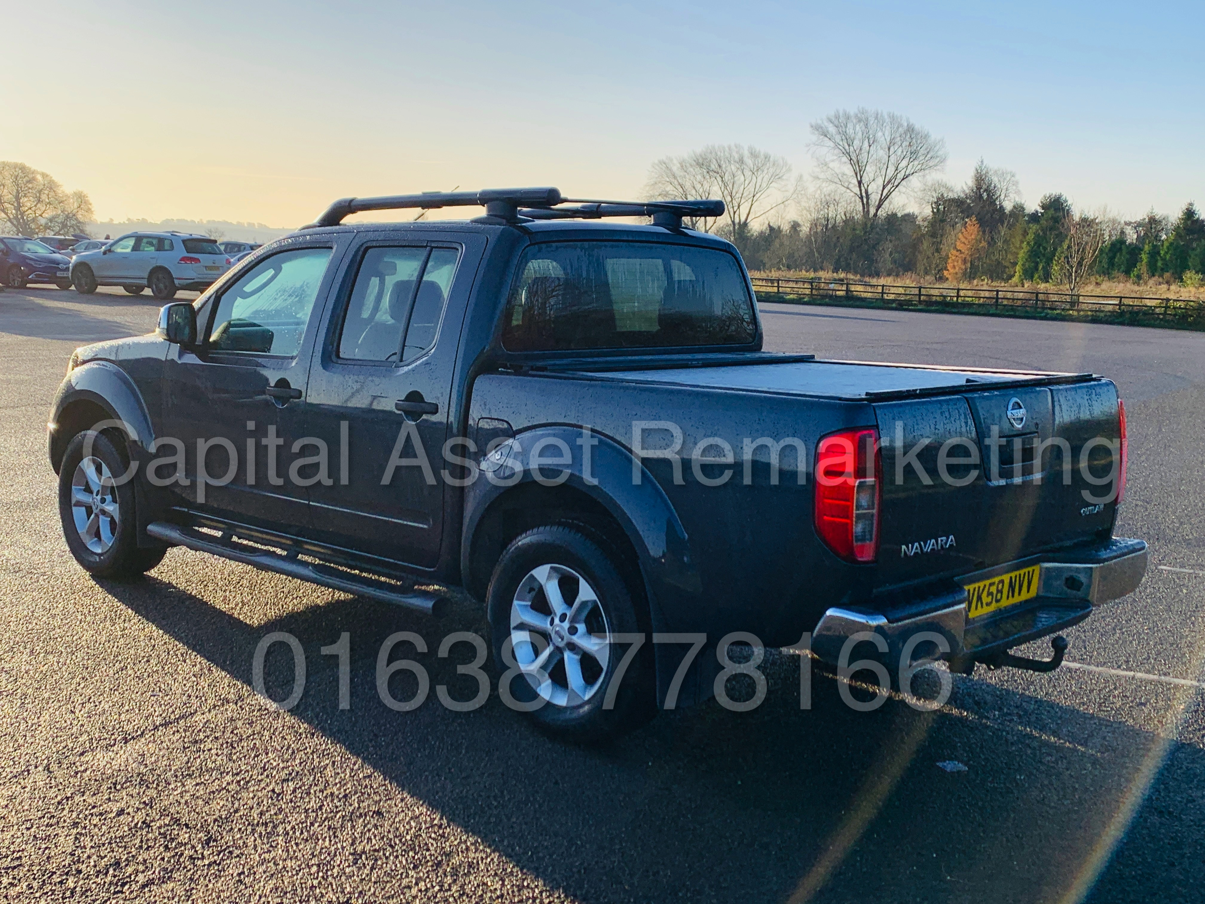 NISSAN NAVARA *OUTLAW* DOUBLE CAB PICK-UP *4X4* (2009) '2.5 DCI-171 BHP- 6 SPEED' *AIR CON* (NO VAT) - Image 6 of 42