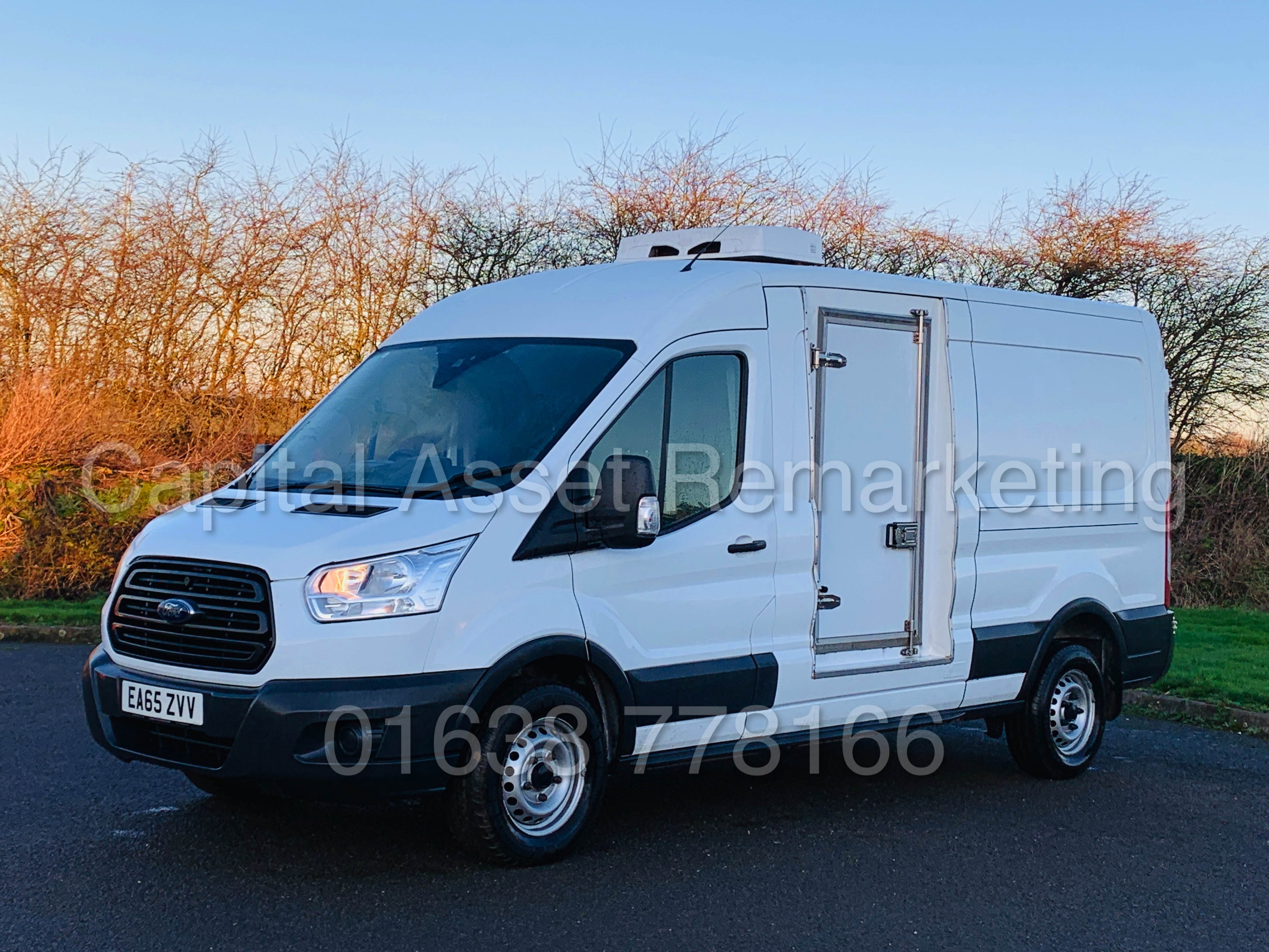 (On Sale) FORD TRANSIT T350 *LWB - REFRIGERATED VAN* (65 REG) '2.2 TDCI -125 BHP- 6 SPEED' (1 OWNER) - Image 7 of 43