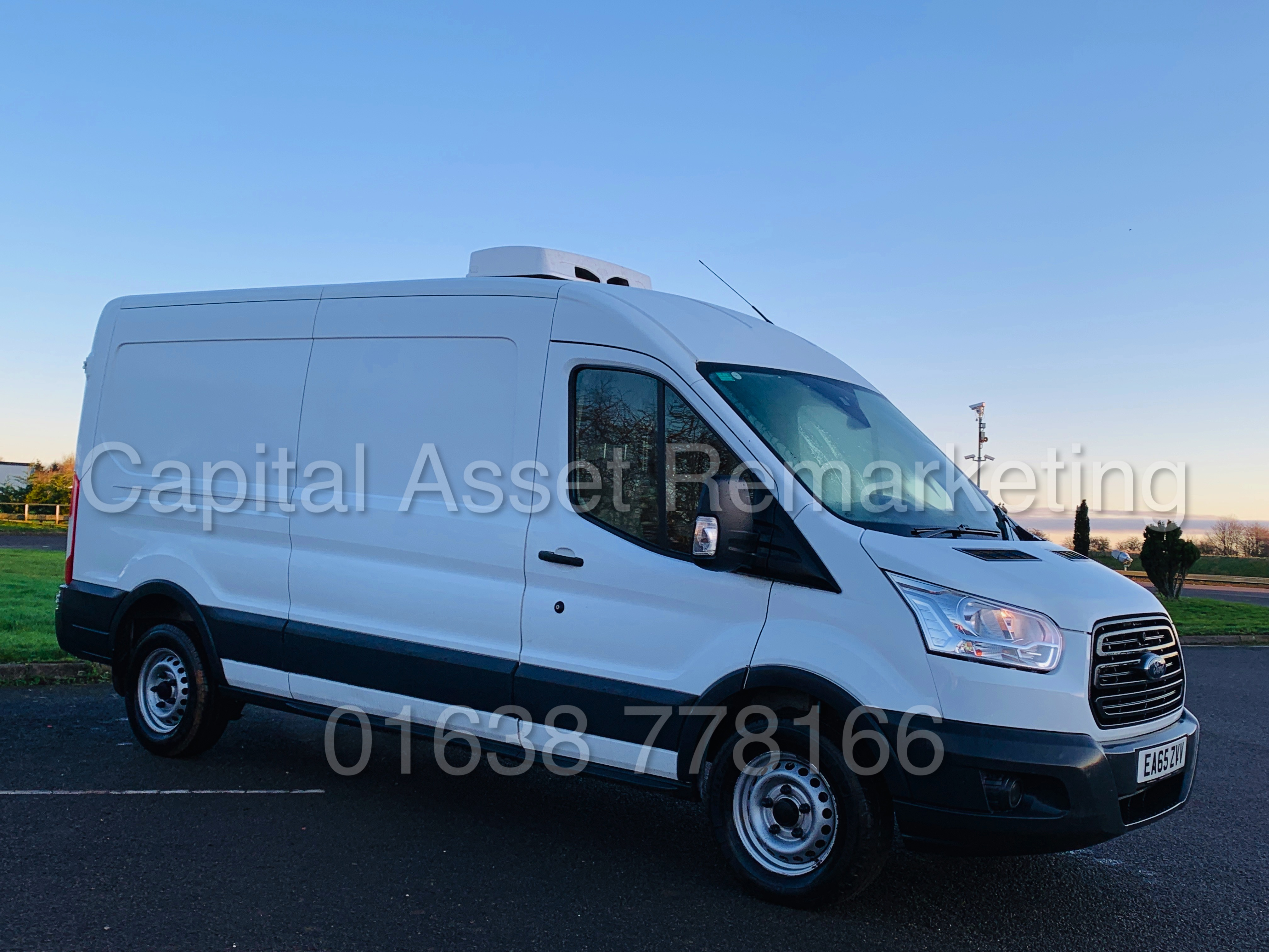 (On Sale) FORD TRANSIT T350 *LWB - REFRIGERATED VAN* (65 REG) '2.2 TDCI -125 BHP- 6 SPEED' (1 OWNER) - Image 2 of 43