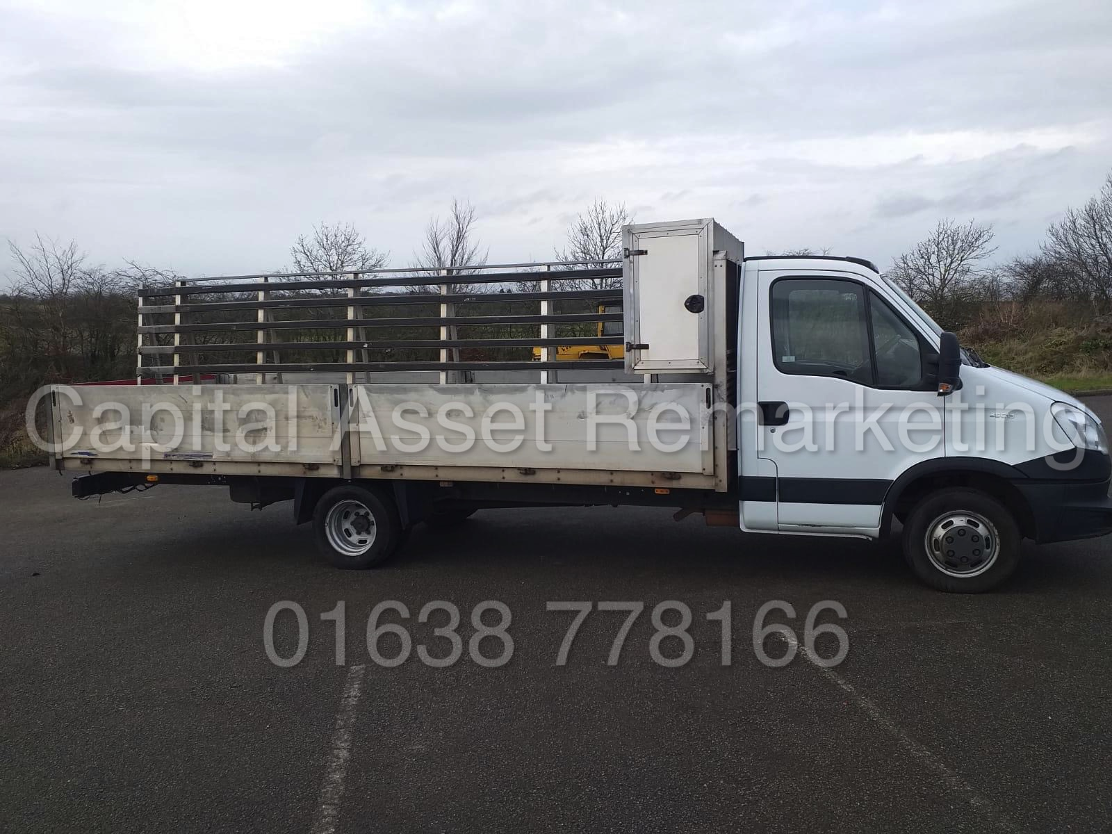 IVECO DAILY 35C13 *XLWB - ALLOY DROPSIDE* (2014 MODEL) '2.3 DIESEL - 127 BHP - AUTOMATIC' (3500 KG)