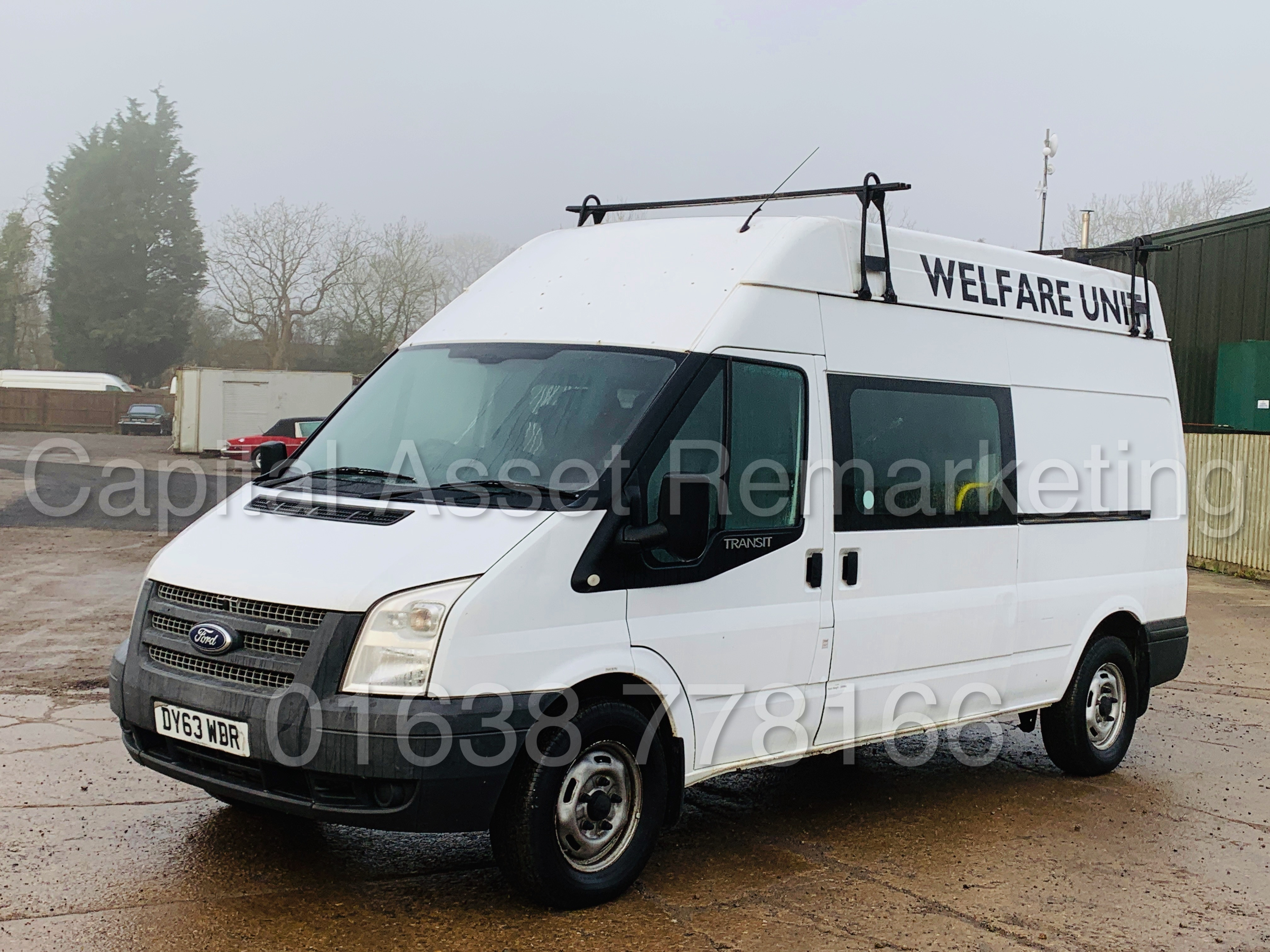 FORD TRANSIT T350 *LWB - 7 SEATER MESSING UNIT* (2014 MODEL) '2.4 TDCI - 6 SPEED' *ON BOARD TOILET* - Image 6 of 44