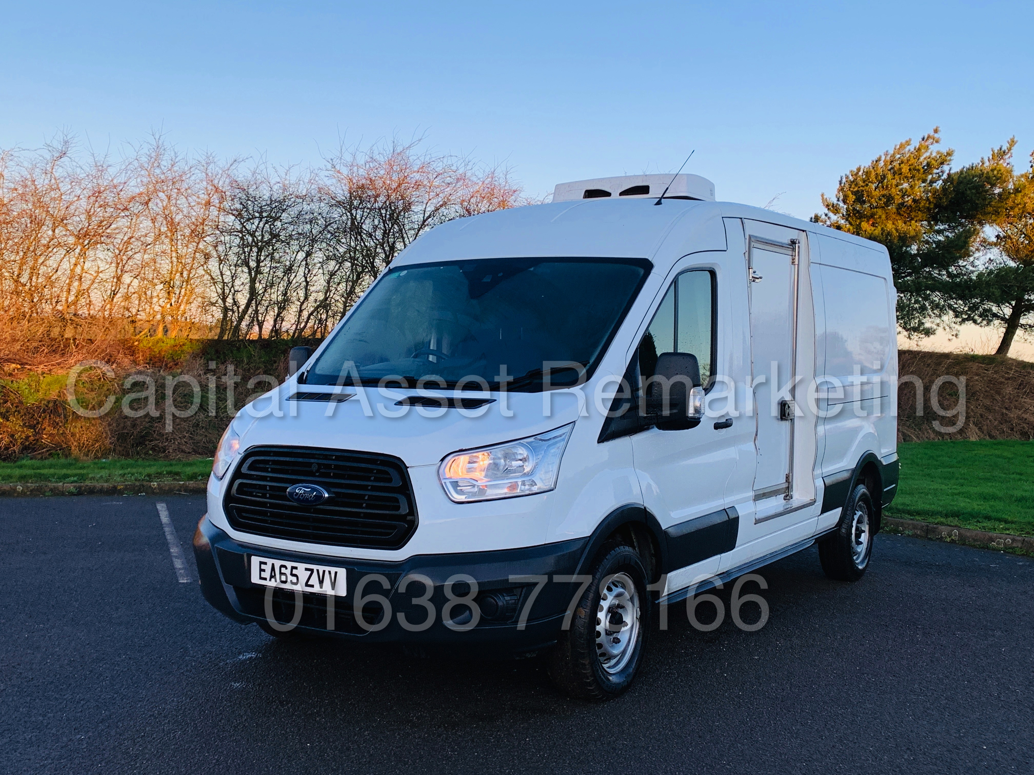 (On Sale) FORD TRANSIT T350 *LWB - REFRIGERATED VAN* (65 REG) '2.2 TDCI -125 BHP- 6 SPEED' (1 OWNER) - Image 5 of 43
