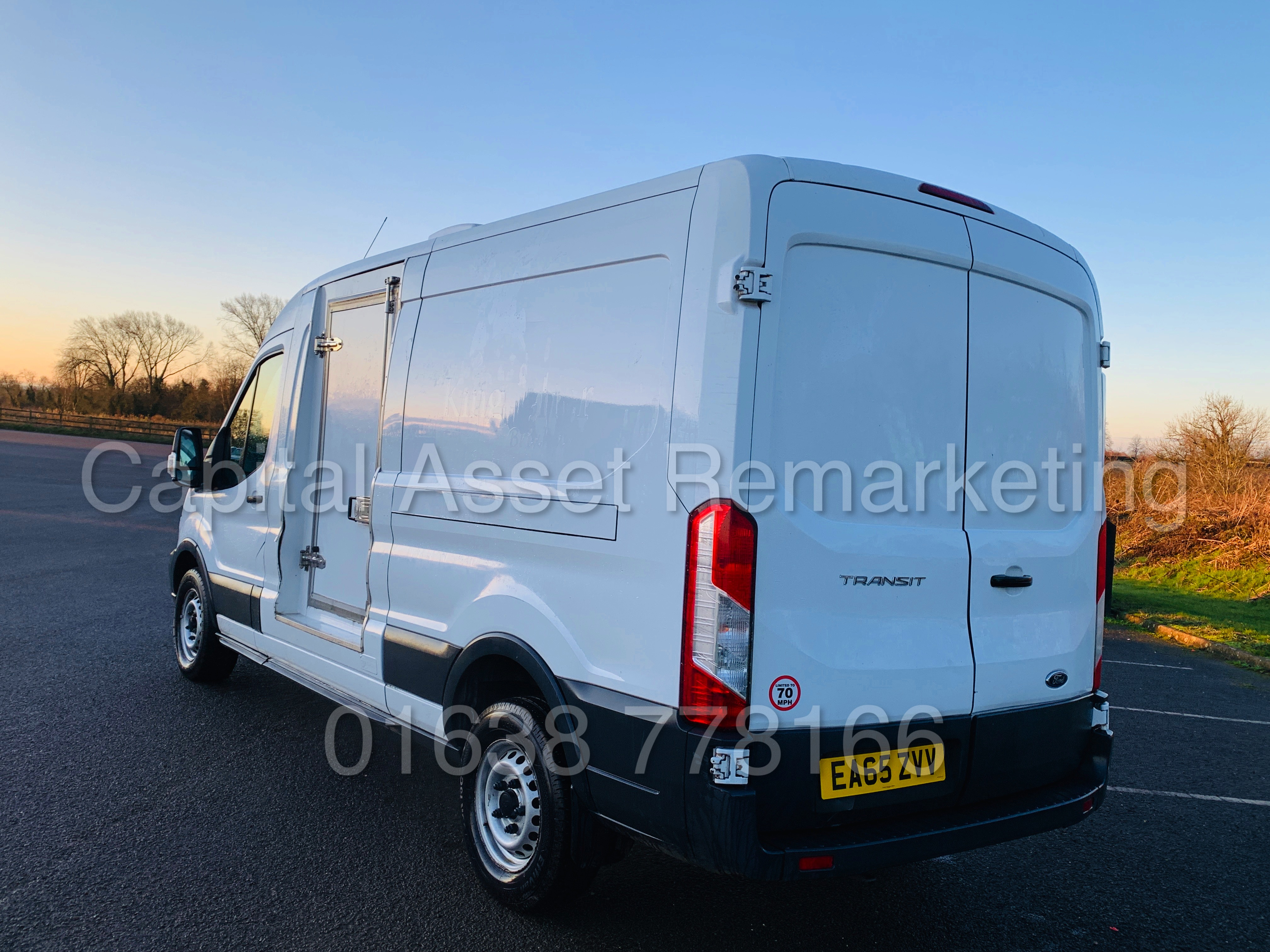 (On Sale) FORD TRANSIT T350 *LWB - REFRIGERATED VAN* (65 REG) '2.2 TDCI -125 BHP- 6 SPEED' (1 OWNER) - Image 9 of 43
