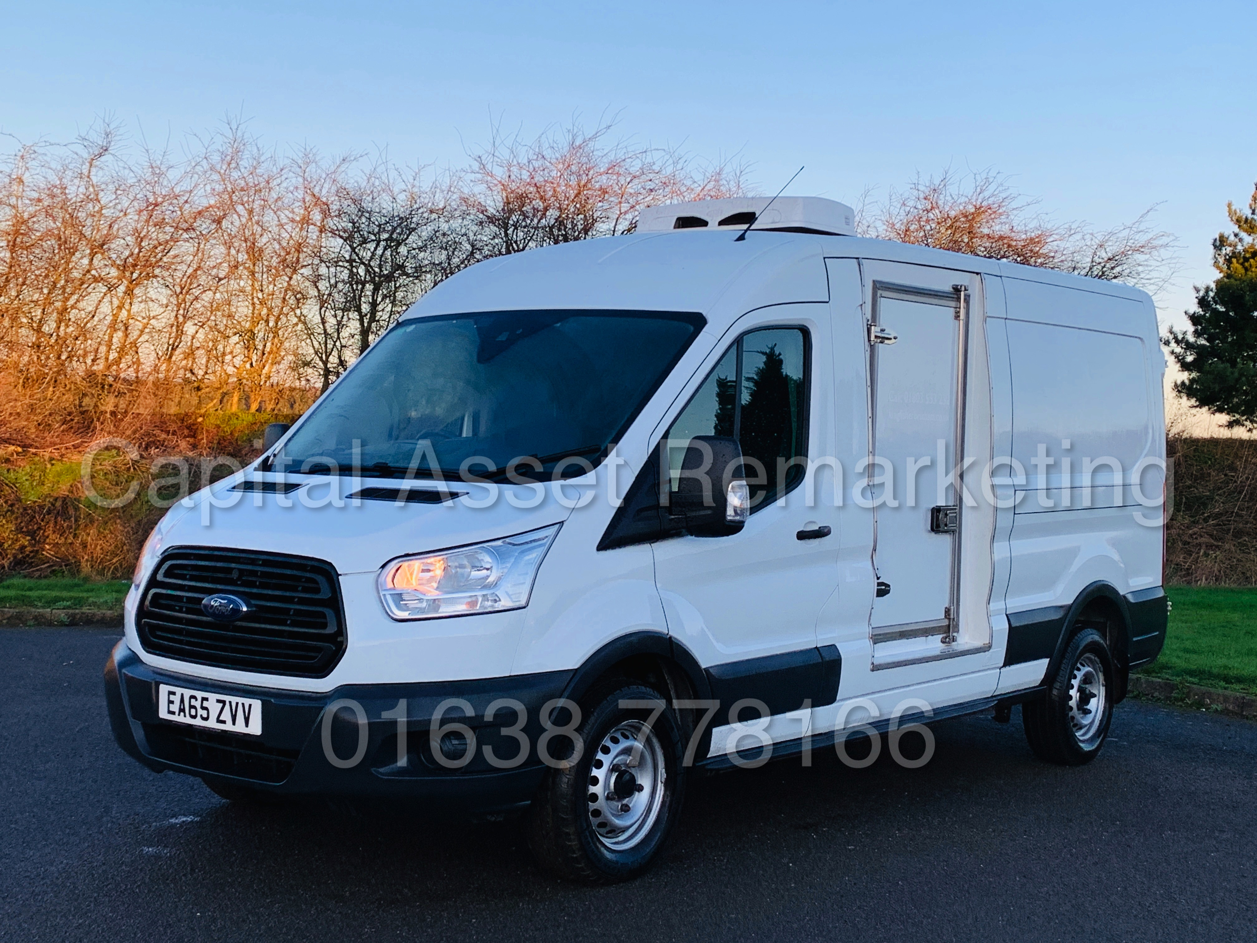 (On Sale) FORD TRANSIT T350 *LWB - REFRIGERATED VAN* (65 REG) '2.2 TDCI -125 BHP- 6 SPEED' (1 OWNER) - Image 6 of 43