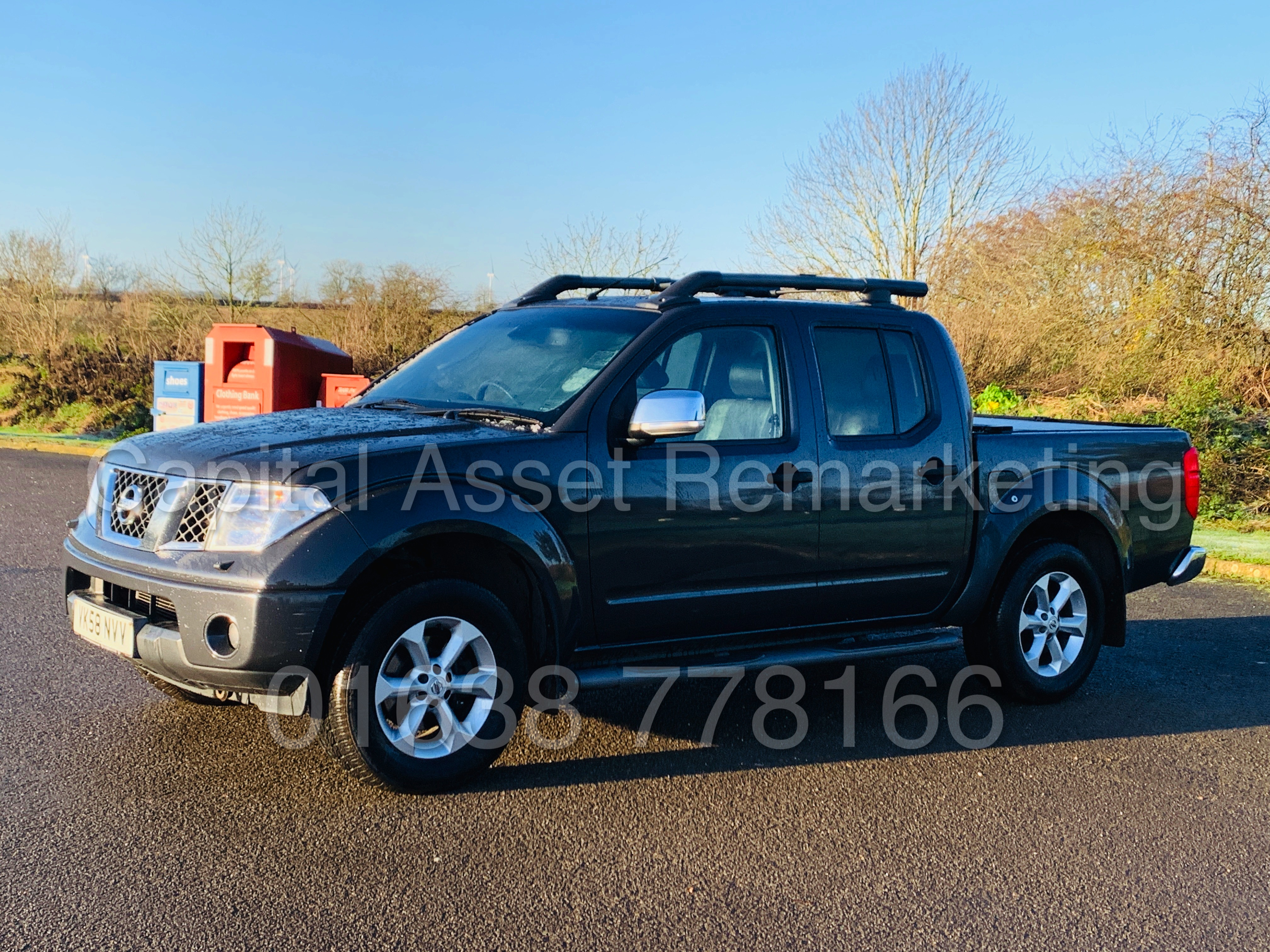 NISSAN NAVARA *OUTLAW* DOUBLE CAB PICK-UP *4X4* (2009) '2.5 DCI-171 BHP- 6 SPEED' *AIR CON* (NO VAT) - Image 5 of 42