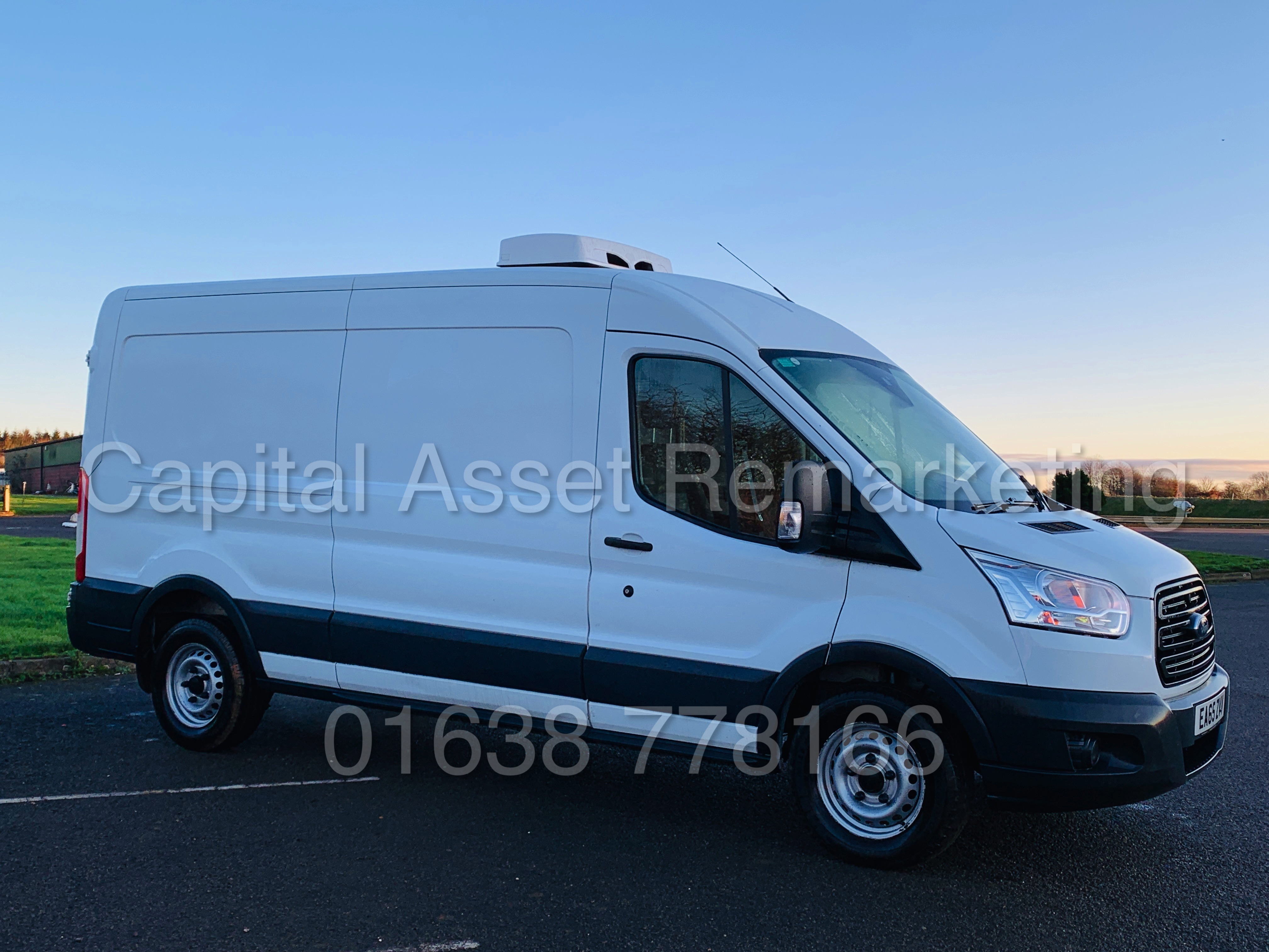 (On Sale) FORD TRANSIT T350 *LWB - REFRIGERATED VAN* (65 REG) '2.2 TDCI -125 BHP- 6 SPEED' (1 OWNER)
