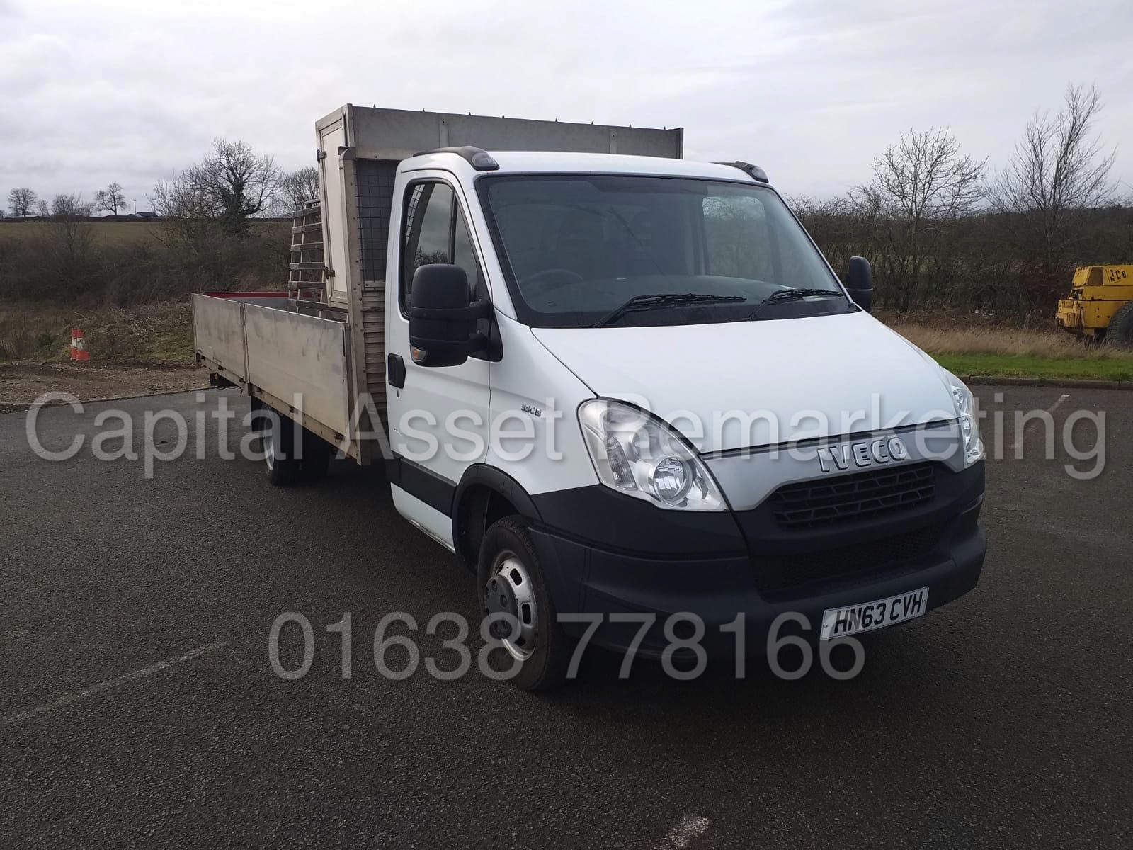IVECO DAILY 35C13 *XLWB - ALLOY DROPSIDE* (2014 MODEL) '2.3 DIESEL - 127 BHP - AUTOMATIC' (3500 KG) - Image 3 of 20