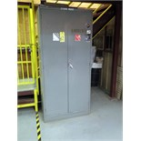 FLAMMABLE LIQUID STORAGE LOCKER, 6' (contents not included)