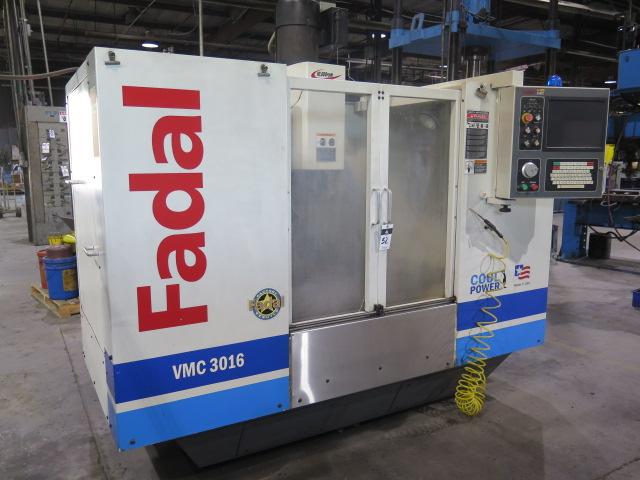 Lot 52 - 2005 Fadal VMC3016HT CNC Vertical Machining Center s/n 032005057693 w/ Fadal Multi Processor CNC