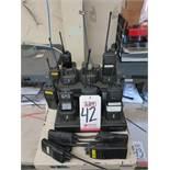 LOT - 2-WAY COMMUNICATION RADIOS W/ CHARGING STATION