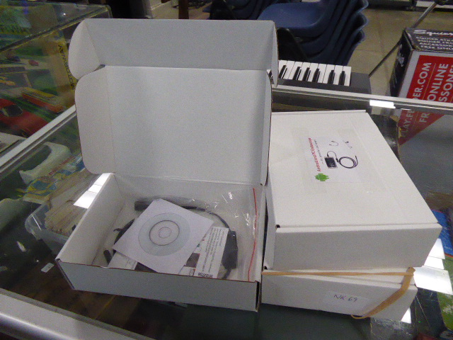 Lot 2406 - 3 boxed android PC endoscopes