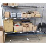1 x Three Tier Shelf With Contents - Ref PA234 - CL463 - Location: Newbury RG34