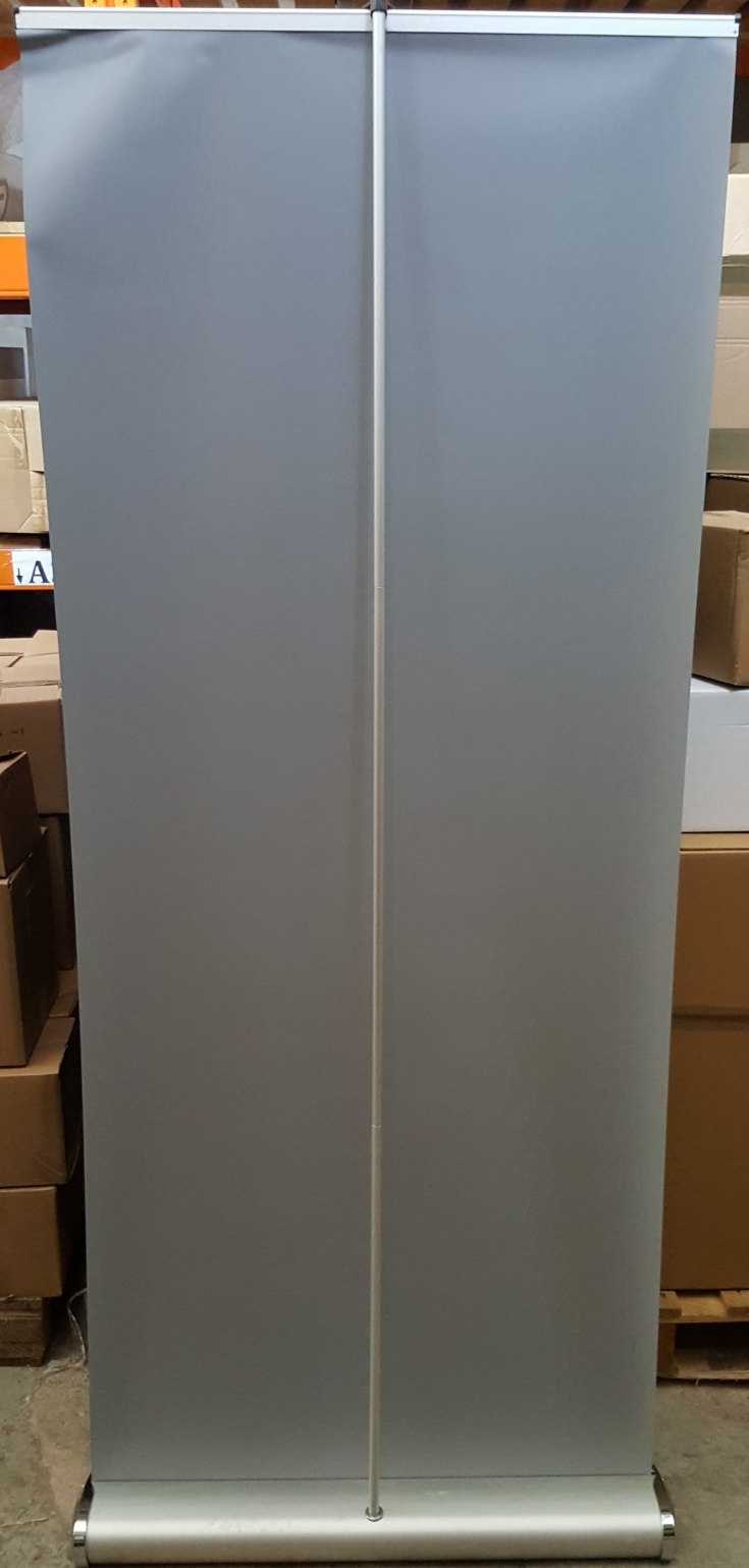 Lot 6840 - 1 x Roll Up Banner And Stand Silver - Ref RC154 - CL011 - Location: Altrincham WA14