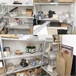 1 x Contents of Storage Room Including Aluminium Shelves - Ref PA167/168/169/180 - CL463 - Location: