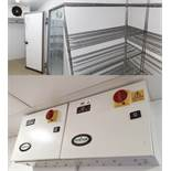 1 x Foster Walk In Double Room Freezer - Includes Doors, Wall Panels, KEC20-6L Condenser and Cold