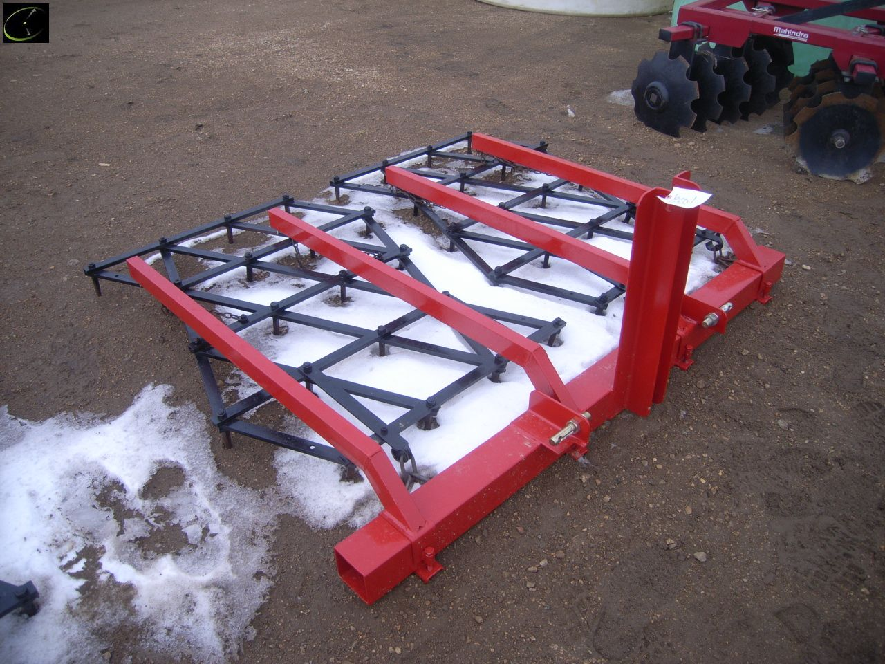 how to build a drag harrow