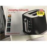 Lot 55 - Morphy Richards Elipta Toaster - Y36