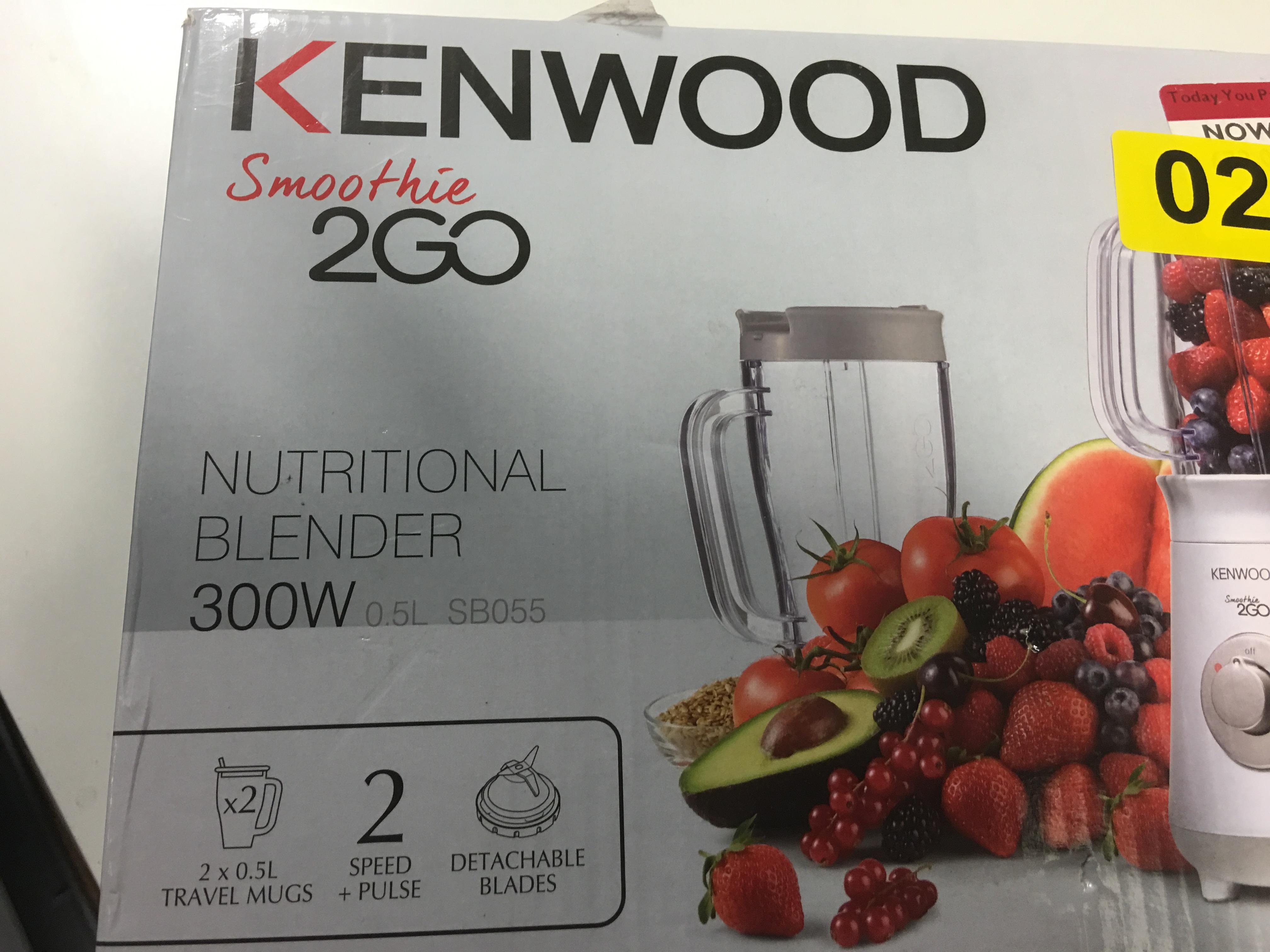 Lot 37 - Kenwood Smoothie 2 Go - Y20