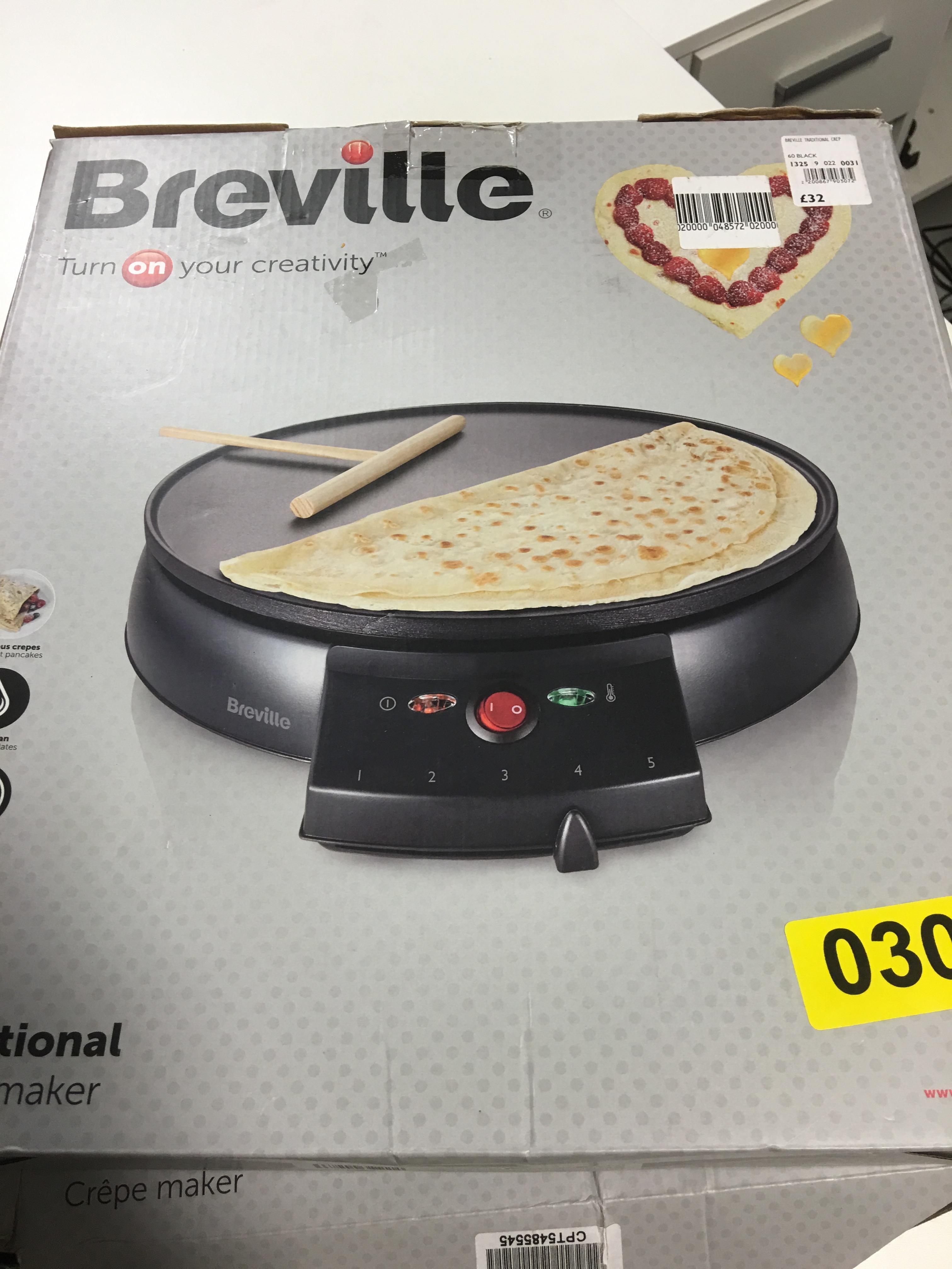 Lot 49 - Breville Crepe Maker - Y30