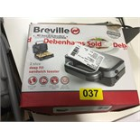 Lot 56 - Breville Sandwich Toaster - Y37