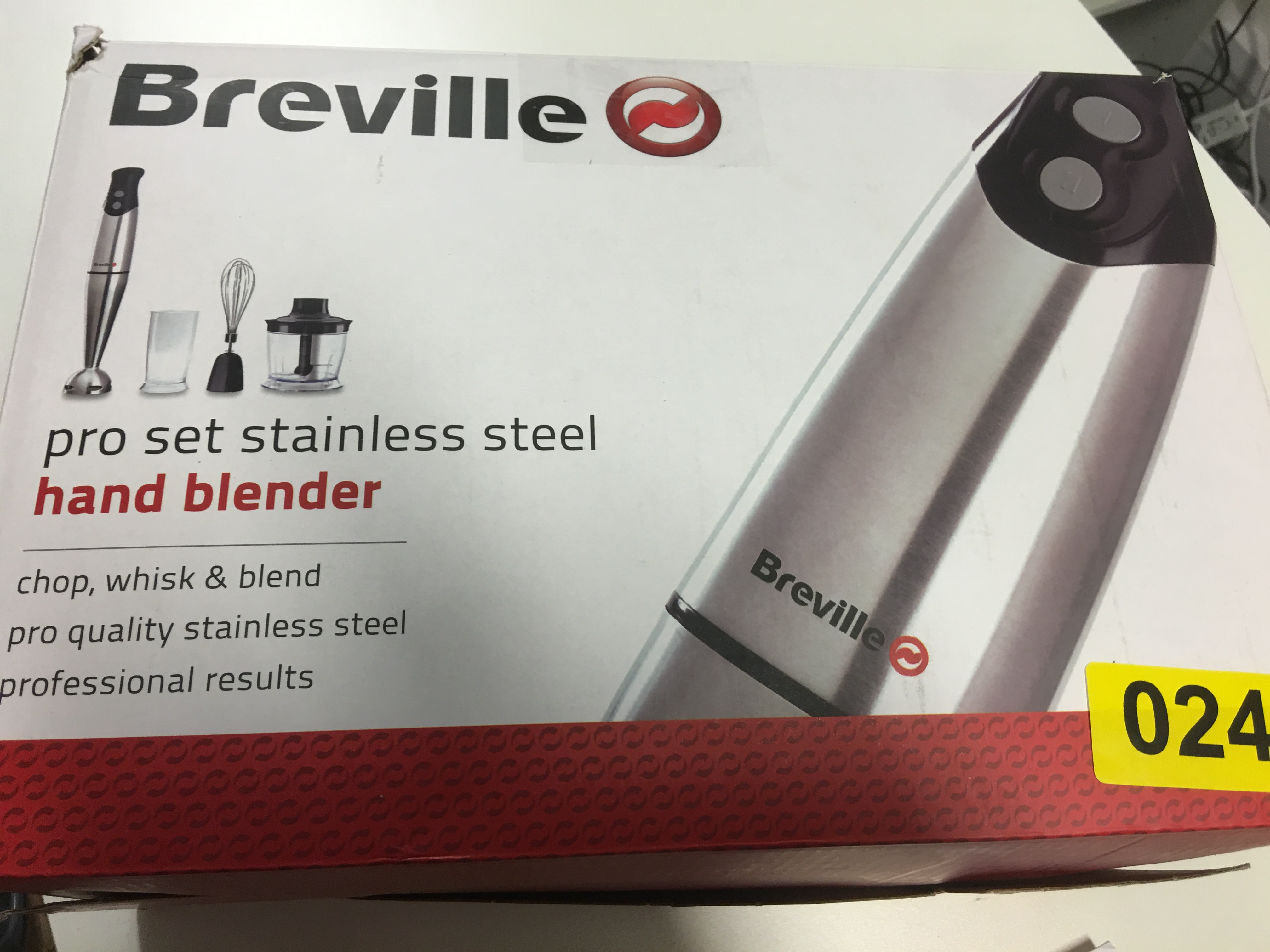 Lot 43 - Breville Stainless Steel Hand Blender - Y24