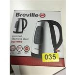 Lot 54 - Breville Stainless Steel Kettle - Y35