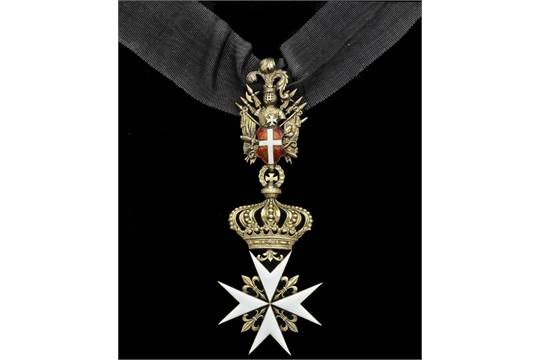 Malta Order Of Malta Knight Of Honour And Devotions Neck Badge
