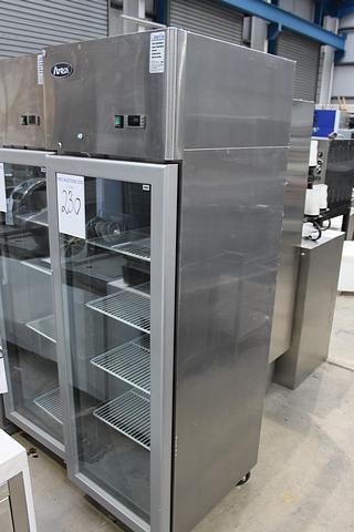 Atosa ycf9401 single glass door upright display chiller for 1 door display chiller