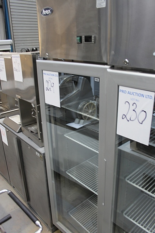 Auction id 19826 lot number 229 atosa ycf9401 single for 1 door display chiller