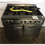 Falcon Dominator 6 Burner Gas Oven