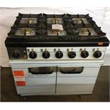 6 Hob Gas Cooker