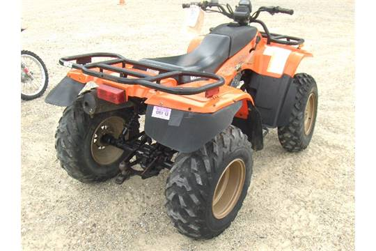 1996 Arctic Cat 454 Bearcat 4ufacat2cvth04922 Four Wheeler Electric Start And Reverse Sold Wit