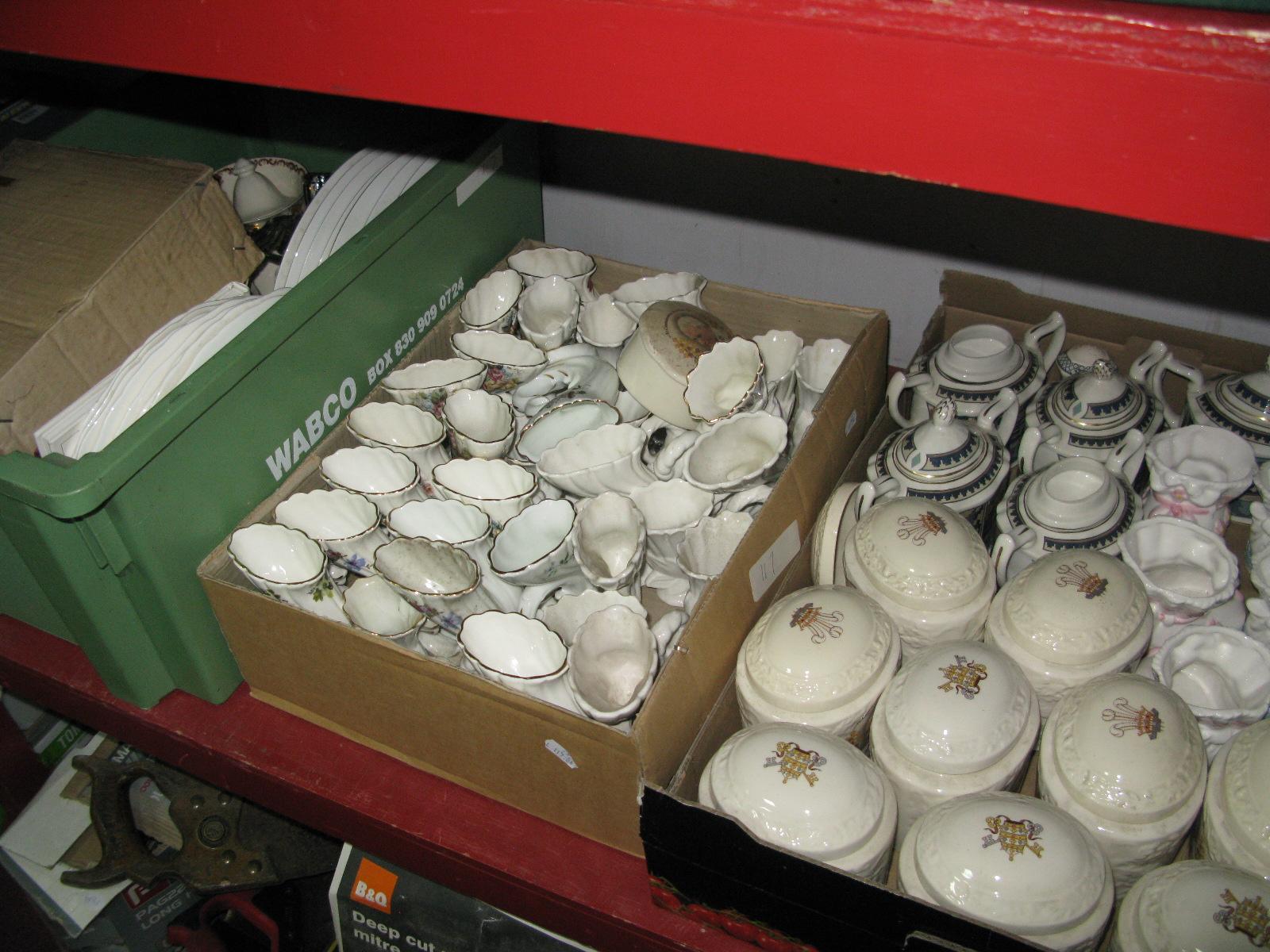 Lot 1060 - A Large Quantity of Mason's Pope Paul Commemorative Wares, Mason's 'Zebak' lidded suqar pots,