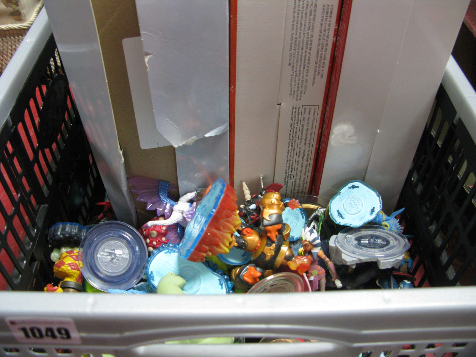Lot 1049 - A Quantity of Xbox 360 Interactive Infinity Disney Characters and Similar, some boxed.