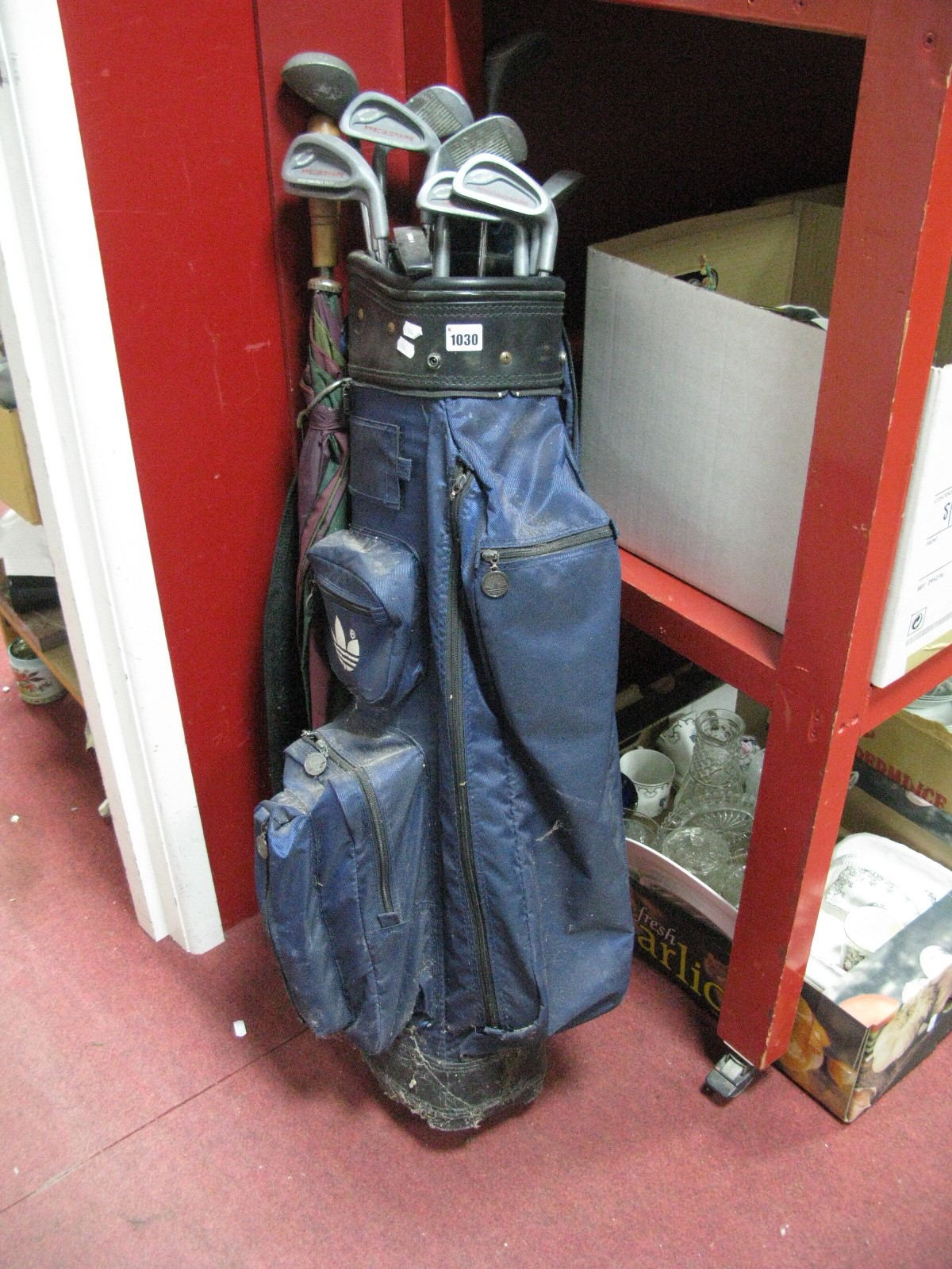 Lot 1030 - Precisionaire Golf Clubs in Bag.