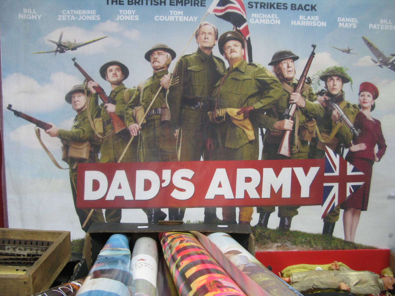 Lot 1005 - A Collection of Modern Film Posters, (Dad's Army, Wuthering Heights, Berberian Sound Studio etc),