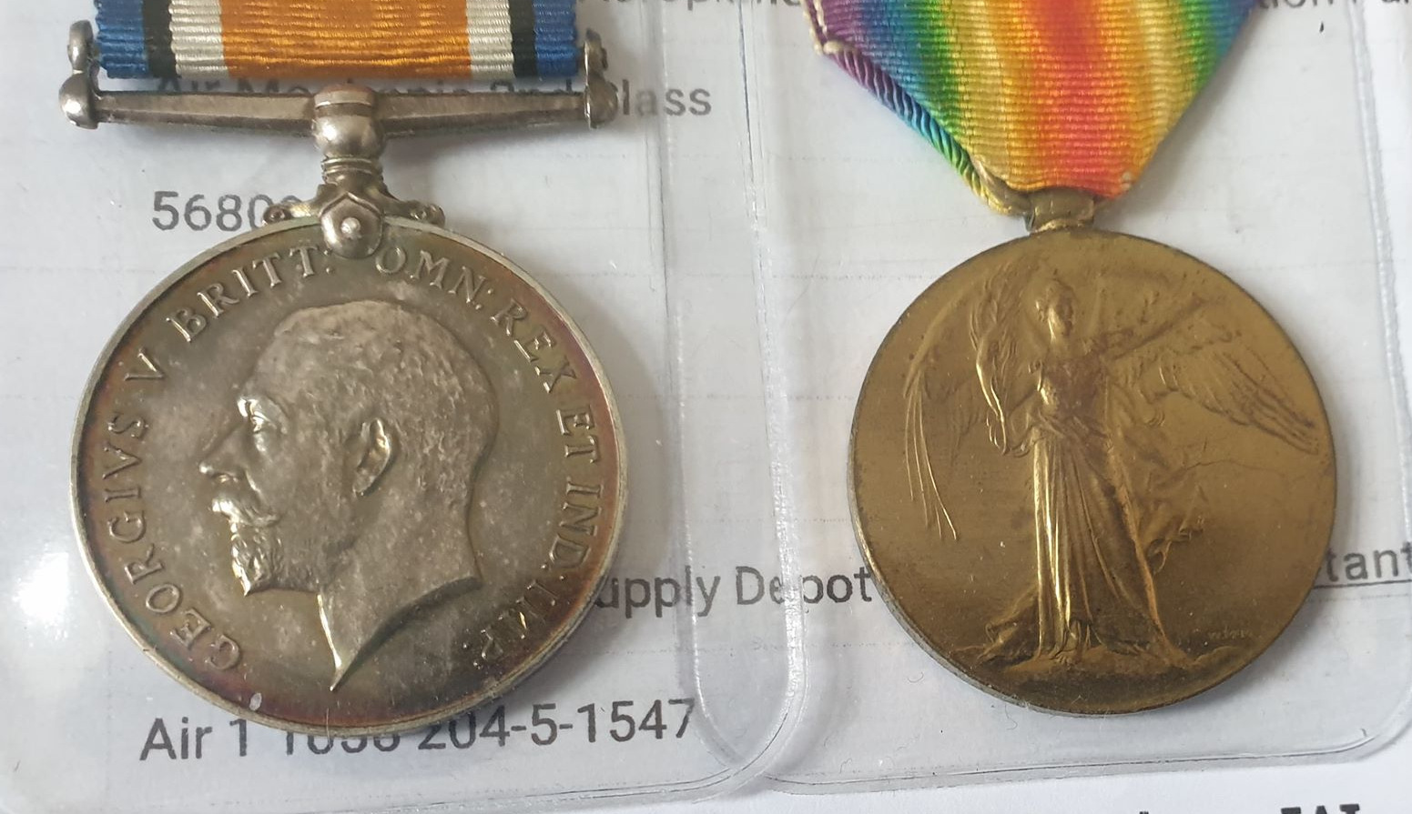 Pair Of Royal Flying Corps Medals - Image 7 of 10