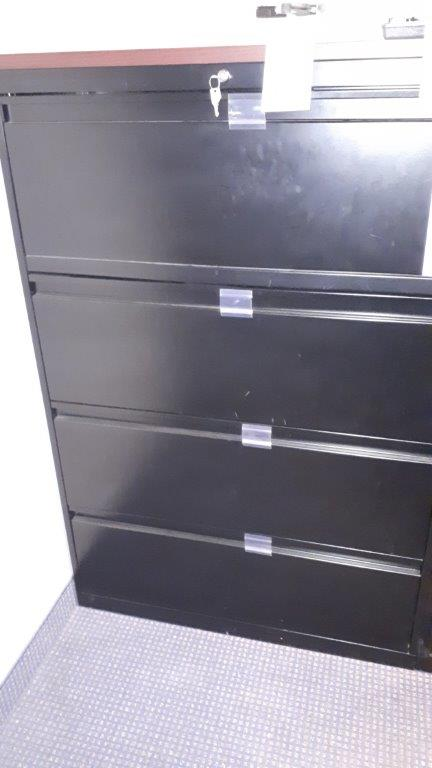 Lot 26 - 4-Drawer filing cabinet