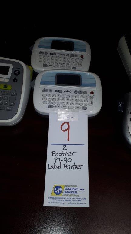 Lot 9 - Brother PT-90 Label printer