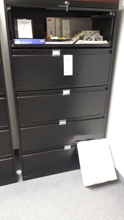 Lot 25 - 5-Drawer filing cabinet