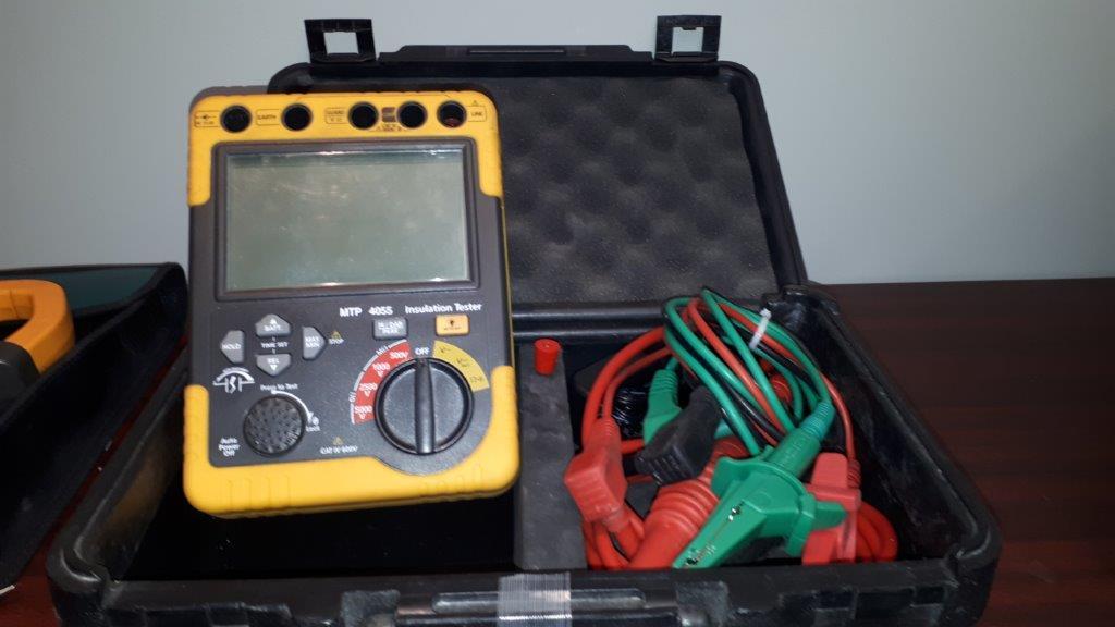 Lot 42 - MTP 4055 Insulation tester