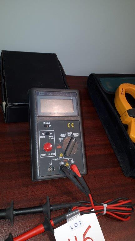 Lot 45 - TEWS 1600 Insulation tester