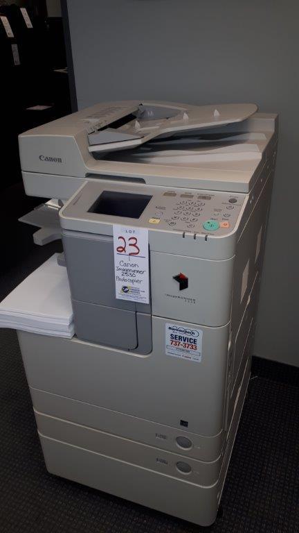 Lot 23 - Canon Imagerunner 2530 photocopier
