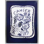 Georges Braque. Cahier 1916 - 1947. Paris, Maeght 1948. Mit zahlreichen lithographierten Tafeln
