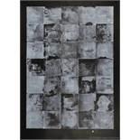 Jim Dine. Wall Chart III. Farblithographie. 1974. 121,9 : 88,9 cm. Signiert, datiert und nummeriert.